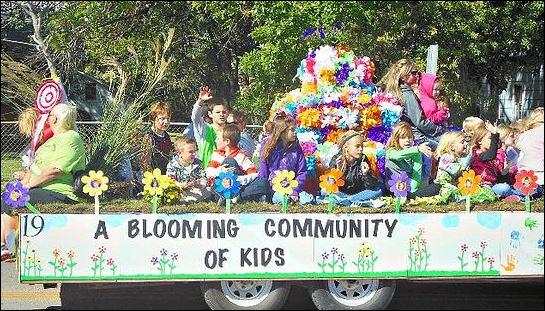 Blooming kids