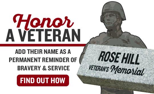 Veteran's Memorial Slider