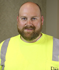 Rose Hill Wasterwater Supervisor - Dillan Curtis