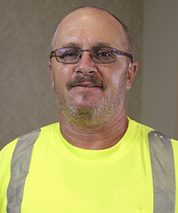 Rose Hill Parks and Street Supervisor - Rick Cooper